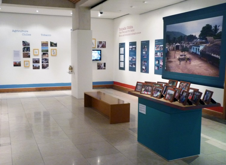"""The future of the rural world? Indian villages, 1950-2015"" exhibition at the Brunei Gallery, SOAS (Photo: Edward Simpson)"