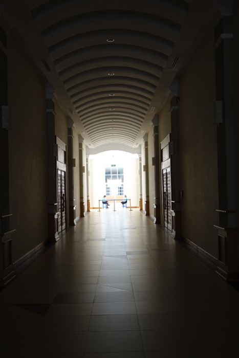 A hallway in the National Museum (Photo: Judith Beyer/Felix Girke 2016)