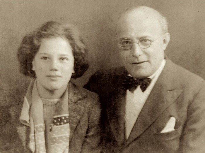 Karl and Kari Polanyi in 1938 when she, aged 15, accompanied him to one of his lectures in southern England organized by the Workers' Education Association (photograph courtesy of Kari Polanyi-Levitt).