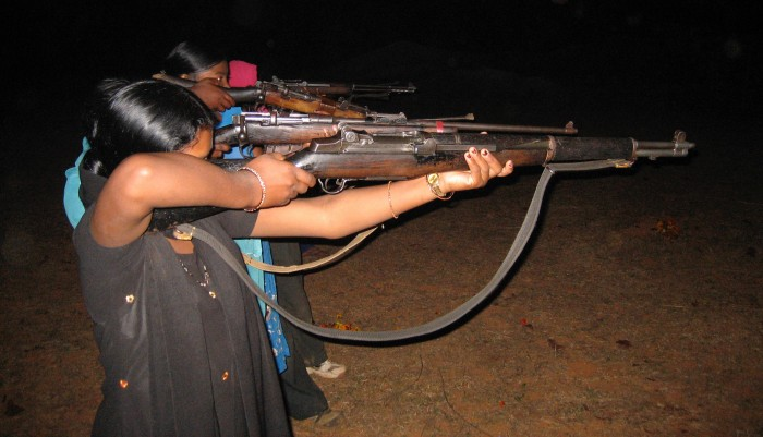 The Women's Liberation Front of the Maoists, Jharkhand (photograph by Alpa Shah, 2010).